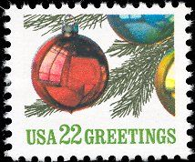 Images of us christmas postage stamps