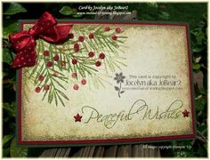 CAS96 Vintage Peaceful Wishes by JoBear2 - Cards and Paper Crafts at Splitcoaststampers