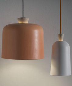 #ceramic pendant #lamp FUSE by @Ex.t | #design Note Design Studio