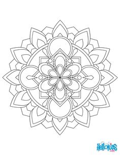 If you like this Mandala 04 worksheet, share it with your friends. They will love these worksheets from Mandalas for BEGINNERS. Mandala Art, Flower Mandala, Mandala Pattern, Zentangle Patterns, Pattern Coloring Pages, Mandala Coloring Pages, Free Coloring Pages, Printable Coloring Pages, Monster Coloring Pages