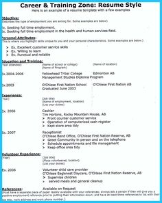 writing good resume objectives objective statement examples