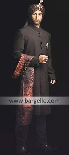 black sherwani $269.95