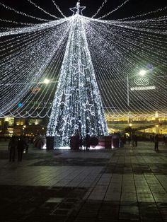 Arbol Navidad, gran estacion, Bogota.