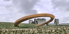 """Gallery of Plans for """"Iron Ring"""" Sculpture in Wales Put on Hold After Public Outcry - 1"""