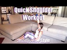 Quick Sexy Shoulders Workout :) - YouTube