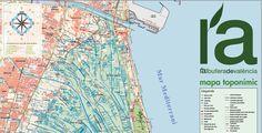 Nuevo mapa de L'Albufera de València http://terrasit.wordpress.com/2013/05/06/nuevo-mapa-de-lalbufera-de-valencia/