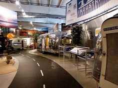 I need to visit this—the RV Hall of Fame. The writer's blog post cracked me up, too. I'd be like a kitten on speed with a ball of yarn in this place!