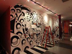 Mural em Ex'pression Colagem de Artes Digitais no Behance