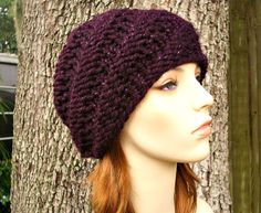 Hand Knit Hat Womens Hat  The Swirl Beanie in Galaxy by pixiebell, $30.00