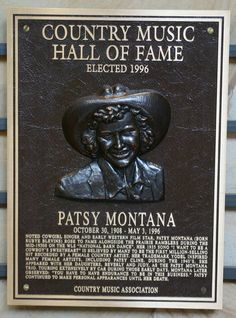 Patsy Montana - Inducted in 1996