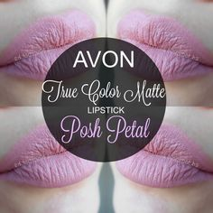 mela-e-cannella: Avon True Color Matte Lipstick - Posh Petal