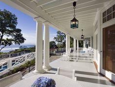 House at Blue Water Hill veranda