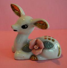 Cute Vintage Deer/Fawn Figurine