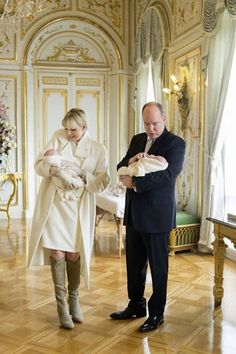 Royals & Fashion: Official presentation of the twins, Monaco