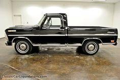 1969 Ford F100 Ranger Big Block SWB Pickup F10YDE12169