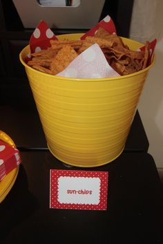sunchips for a sunshine party! lol