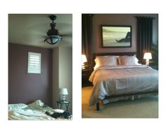 and it's almost done!   (Before & After)