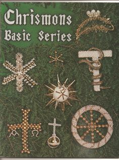 Chrismons Ornaments:  Basic Series by Chrismons on Etsy https://www.etsy.com/listing/237271438/chrismons-ornaments-basic-series