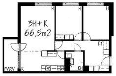 Hatuntekijänkuja, Tapulikaupunki, Helsinki, 3h+k 66,5 m², SATO vuokra-asunto