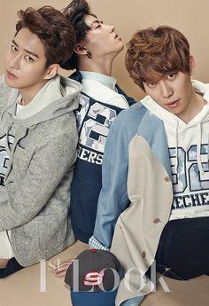 B-Bomb U-kwon and Kyung Block B - 1st Look Magazine Vol.84