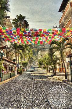 Streets in Puerto Vallarta $25
