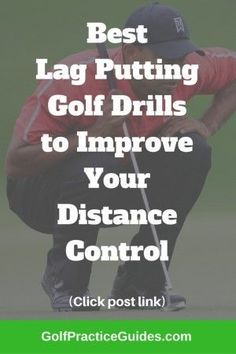 The best lag putting drills if your golf game is struggling in the area of speed control. Use these putting tips and drills to start lagging more putts closer to the hole on the putting green. If you enjoy this article, please share! Golf Putting Tips, Golf Practice, Golf Chipping, Golf Videos, Golf Instruction, Golf Tips For Beginners, Golf Exercises, Perfect Golf, Golf Lessons
