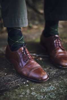 Wood Paneled Shoes via Tumblr - vintage and modern men's fashion. If you love a man in a suit, you'll be entertained for hours.
