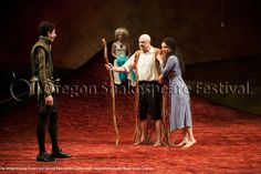 The Tempest (2014): Daniel José Molina, Kate Hurster, Denis Arndt, Alejandra Escalante. Photo: Jenny Graham.