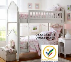70 Pottery Barn Bunk Beds Used Ideas for A Small Bedroom Check more at www. Childrens Bunk Beds, Twin Bunk Beds, Kids Bunk Beds, Cute Rooms For Girls, Big Girl Rooms, Bunk Bed Designs, Shared Bedrooms, Daughters Room, Baby Furniture