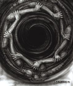 .1985......THE  VORTEX.......BY H.R. GIGER...........SOURCE…