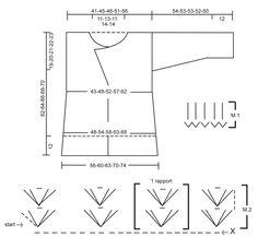 """Giacchino DROPS lavorato all'uncinetto in """"Ice"""" con motivo a gruppi di maglie alte  e sospensioni in vita. Taglie: S – XXL.  Modello gratuito di DROPS Design."""