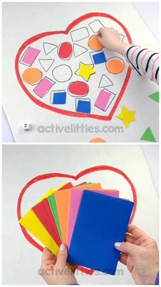 Learning For Toddlers, Baby Learning Activities, Shapes For Toddlers, Creative Activities For Kids, Learning Shapes, Montessori Activities, Infant Activities, Kindergarten Activities, Shapes For Preschool