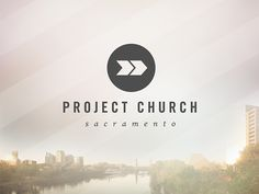 Project Church // branding + print by Prodigy Pixel, via Behance. Church Graphic Design, Church Design, Letterhead Design, Branding Design, Church Logo, Modern Church, Branding Template, Business Logo, Graphic Design Inspiration