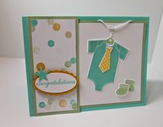 Use new Stampin' Up! products - Something for Baby, Baby's First framelits, Lullaby dsp.  Please check my blog for further details! http://shellsq.blogspot.com
