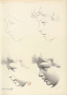Album de l'École de dessin: Journal des jeunes artistes et des amateurs, Monrocq frères, Paris, 1852. Bibliothèque nationale de France, Paris. Anatomy Sketches, Anatomy Art, Anatomy Drawing, Drawing Sketches, Art Drawings, Graphite Drawings, Unique Drawings, Realistic Drawings, Digital Painting Tutorials