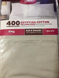 Better Homes And Gardens 400 Thread Count Solid Egyptian Cotton