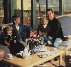 Dirk Benedict, Toni, their boys