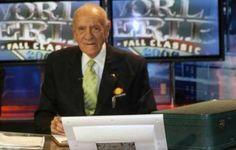 Fallece el cronista deportivo 'Mago' Septién a los 97 años