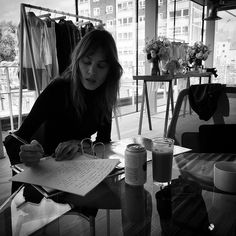 "miss-sheffield: "" ""Prepping for #ACforAG London Press Preview @chungalexa @agjeans"" x """