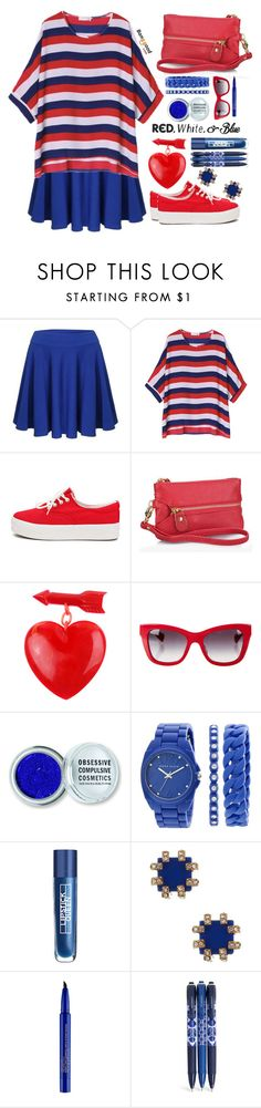"""Banggood"" by simona-altobelli ❤ liked on Polyvore featuring Dolce&Gabbana, Obsessive Compulsive Cosmetics, Anne Klein, Trina Turk, Smashbox and Vera Bradley"