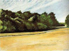 Mass of Trees at Eastham - Edward Hopper