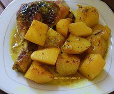 ΜΑΓΕΙΡΙΚΗ ΚΑΙ ΣΥΝΤΑΓΕΣ: Κοτόπουλο με πατάτες φούρνου το κάτι άλλο σε γεύση !!!