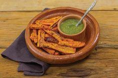 Cenoura assada com molho pesto | Panelinha - Receitas que funcionam