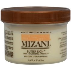 Mizani Butter Rich Deep Nourishing Hairdress