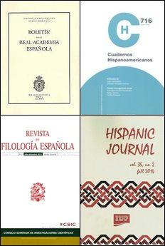 Filoloxía española http://kmelot.biblioteca.udc.es/search~S1*gag/?searchtype=d&searcharg=Filolog%C3%ADa+espa%C3%B1ola+--+Publicaciones+peri%C3%B3dicas&searchscope=1&sortdropdown=-&SORT=D&extended=0&SUBMIT=Busca&searchlimits=&searchorigarg=dFilolog{226}ia+portuguesa+--+Publicaciones+peri{226}odicas