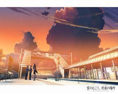 /Kumo no Mukou Yakusoku no Basho/#84225 - Zerochan   Makoto Shinkai