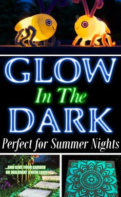 DIY Home Sweet Home: 9 Glow-In-The-Dark Projects Perfect For Summer Nights