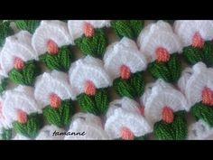 Fashion and Lifestyle Crochet Edging Patterns, Crochet Chart, Crochet Motif, Crochet Designs, Crochet Flowers, Puff Stitch Crochet, Crochet Stitches, Cute Crochet, Beautiful Crochet
