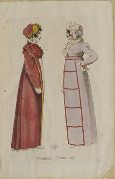 Two ladies 1810 Opera Dresses