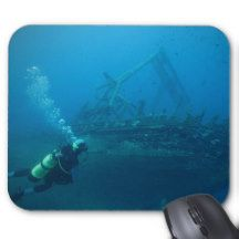 Shipwreck Mouse Pad